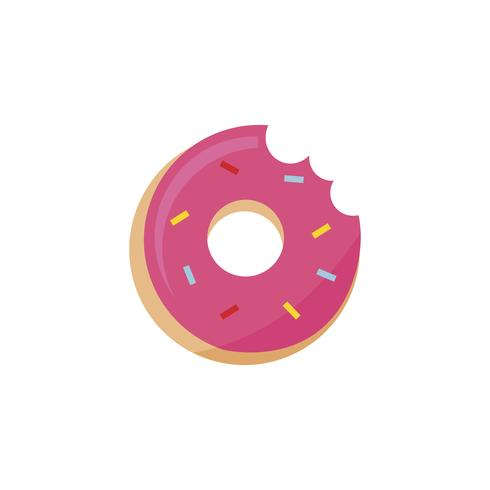 Illustration of a donut
