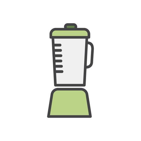Ilustración de una licuadora
