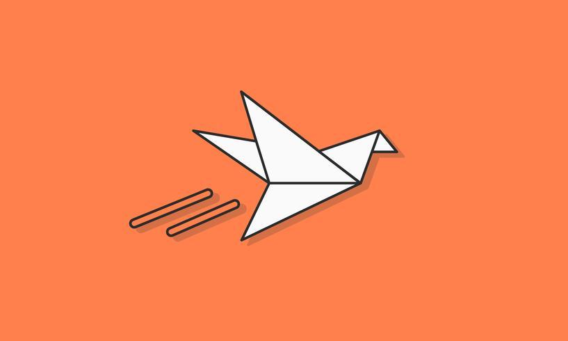Illustration av frihet fågel
