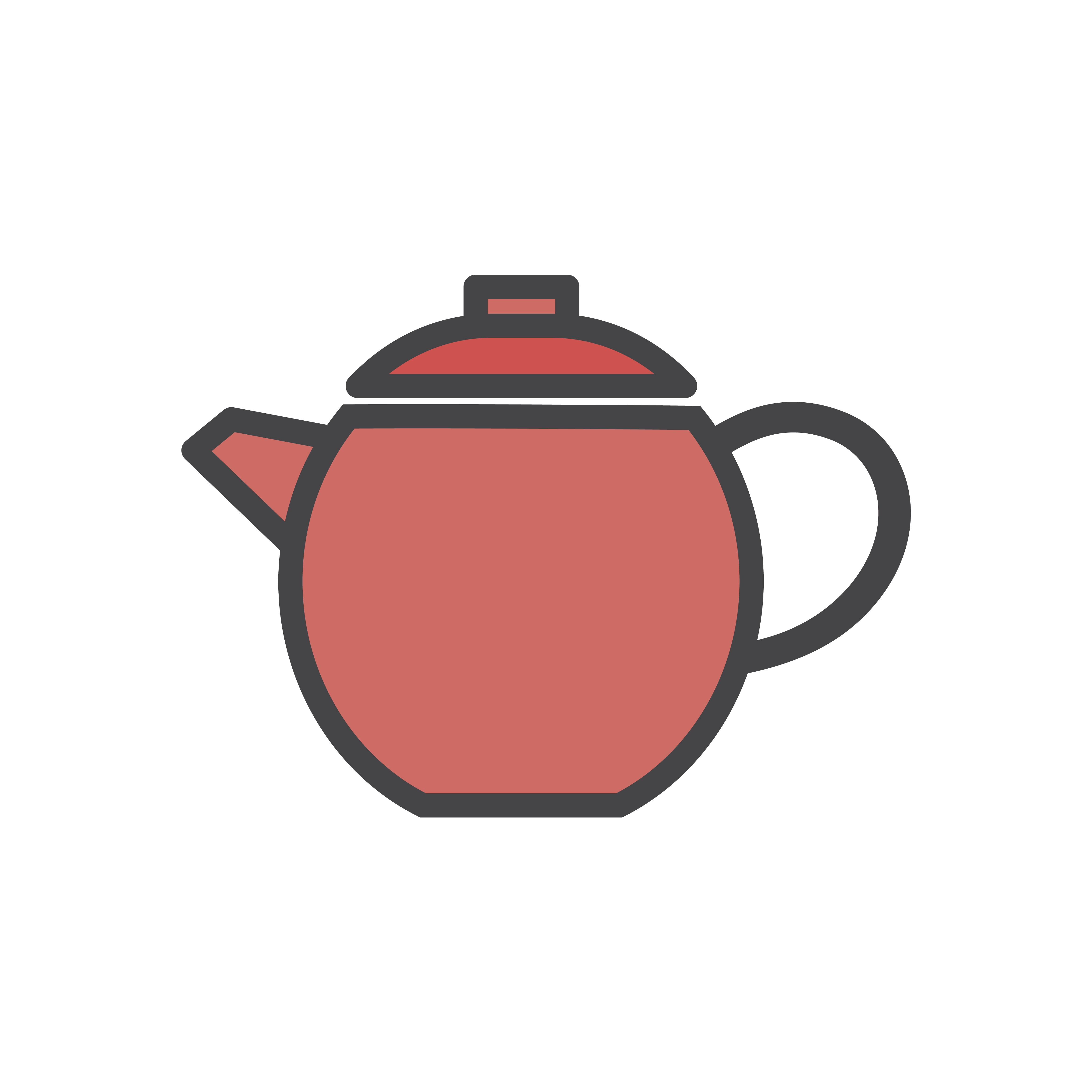 Illustration of a tea pot - Download Free Vectors, Clipart ...
