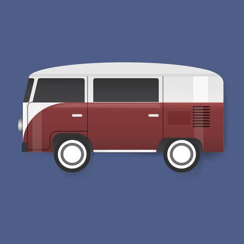 Illustration d'une camionnette