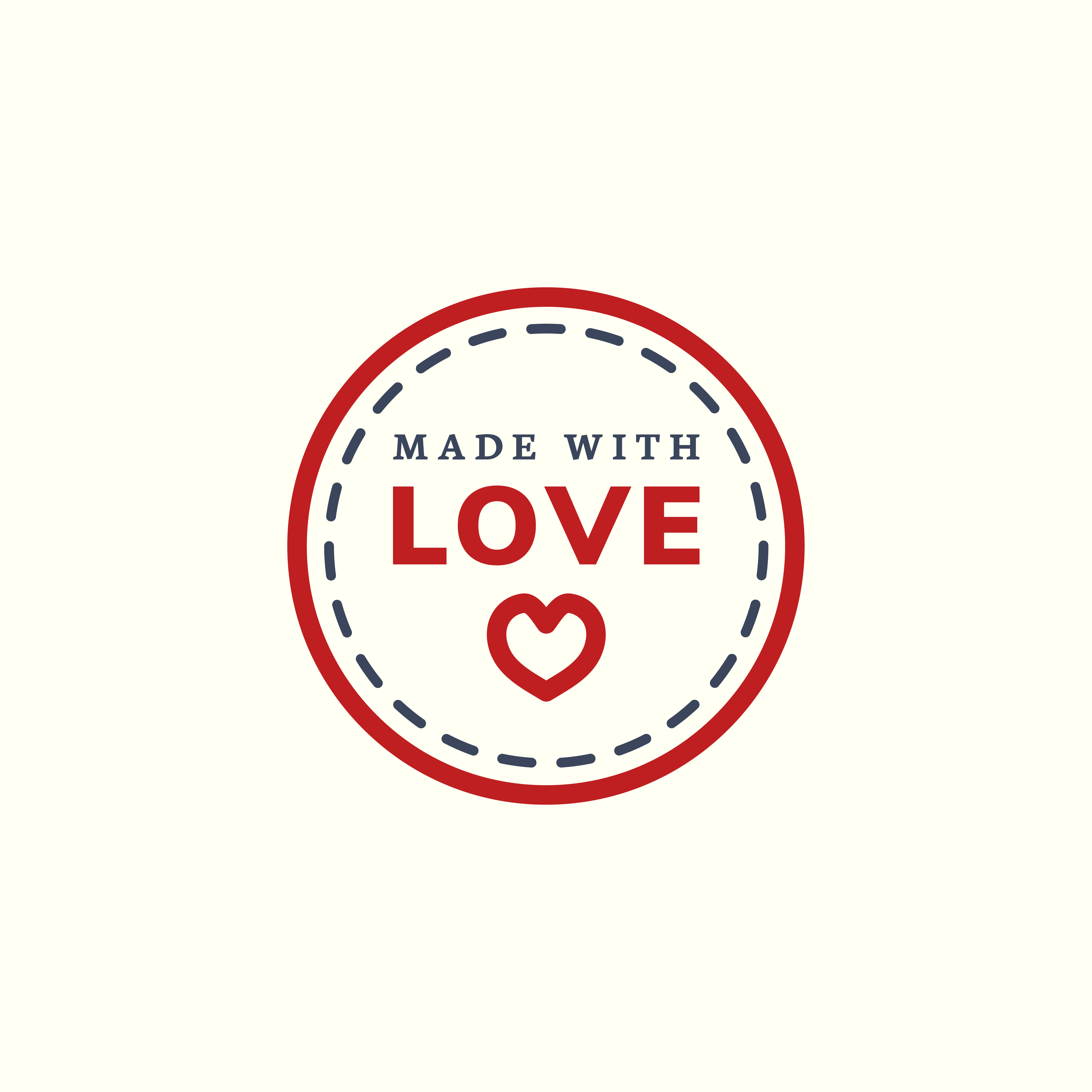 Download Made with love icon illustration - Download Free Vectors ...