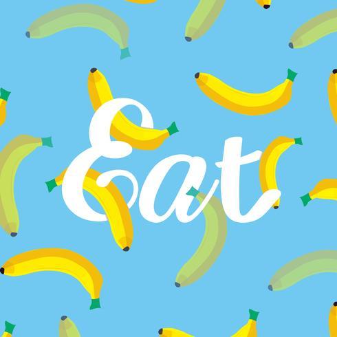 Ilustración de los plátanos