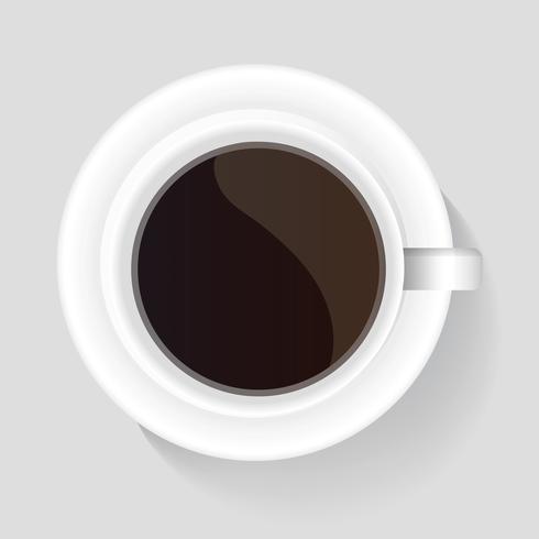 Illustration d'une tasse de café