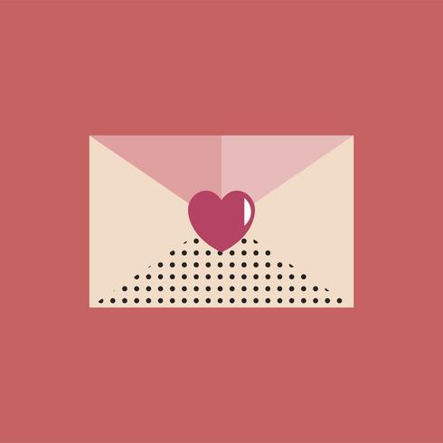 Alla hjärtans dag Icon Concept