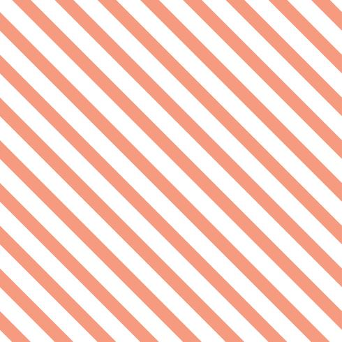 Vettore pastello senza cuciture arancio del modello a strisce