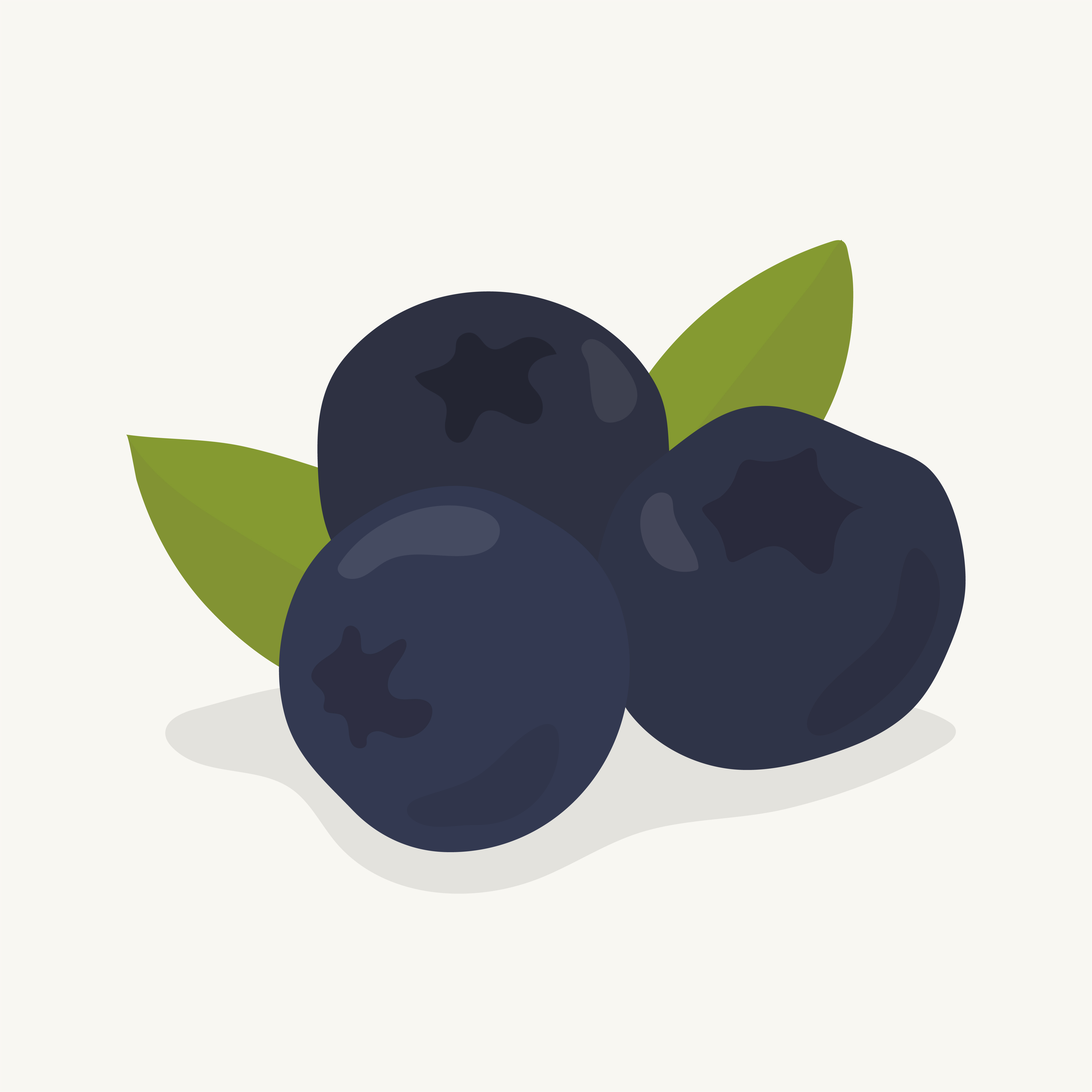 Hand Drawn Blueberry Fruit Illustration Download Free