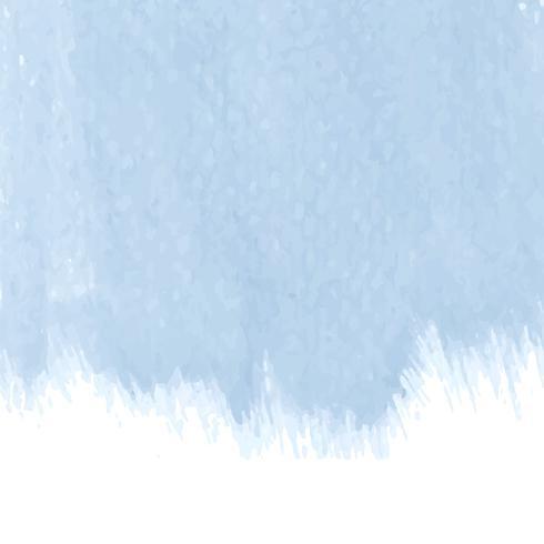 Vector de fondo acuarela azul pastel