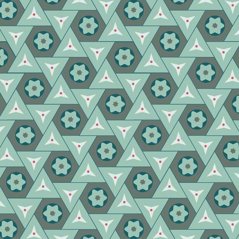 Illustration av ett geometriskt mönster