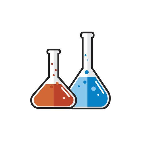 Ilustração, de, laboratório, instrumento