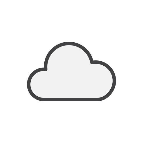 Illustration du stockage en nuage