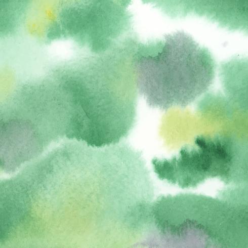 Abstracte groene aquarel vlek textuur