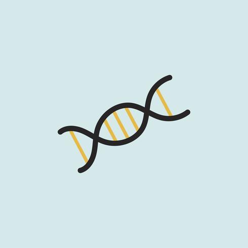 Ilustração de dupla hélice de DNA