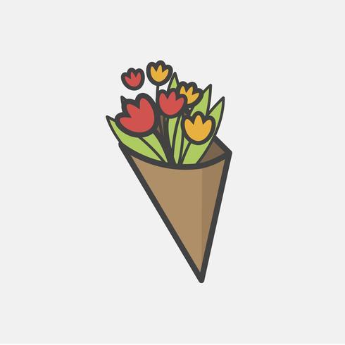 Illustrazione del vettore di fiore