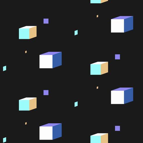 Vetor de design de diferentes padrões