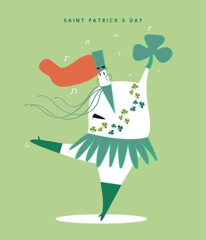 St. Patrick's Day Konzept Abbildung