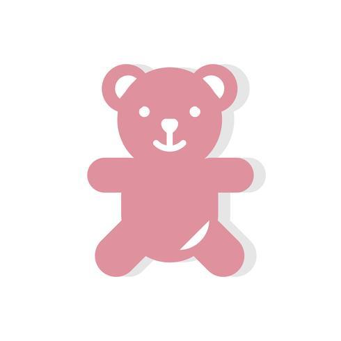 Teddybjörn Alla hjärtans dag ikon