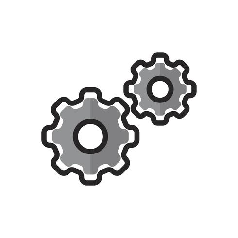 Illustration of config gears
