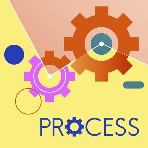 Illustration of process gear