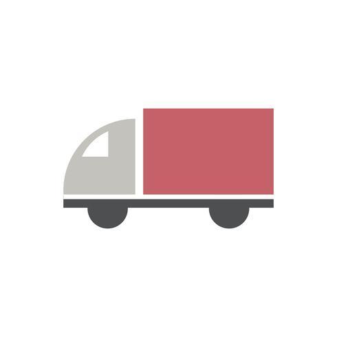 Illustratie van vrachtwagenlading