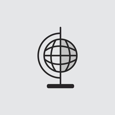 Illustrazione della sfera del globo
