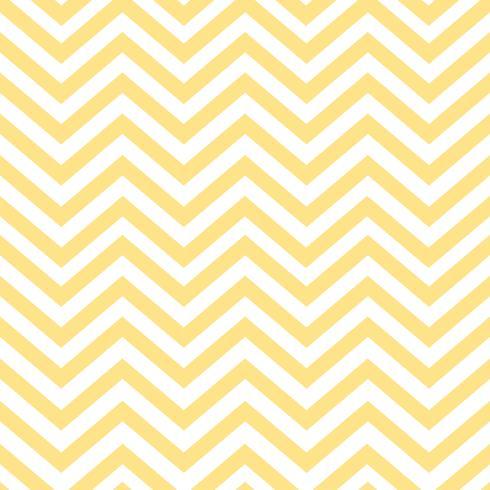 Yellow seamless zigzag pattern vector