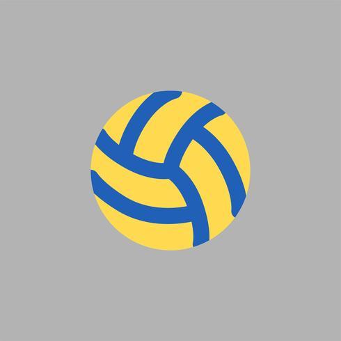 Illustrazione dell'icona di pallavolo