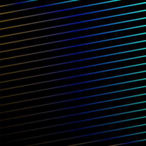 Levande linjer på svart bakgrund vektor