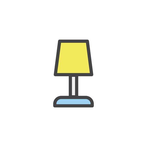 Illustration d'une lampe de bureau