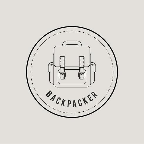 illustrazione dell'icona del concetto di viaggio