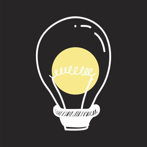 Vektor einer Glühbirne