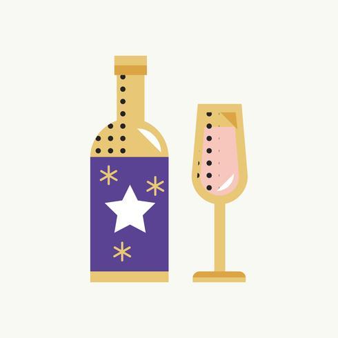 Champagne Icon Celebration Event Concept