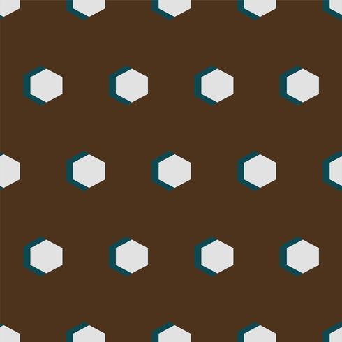 Vintage padrão geométrico inspirado pela gramática do ornamento