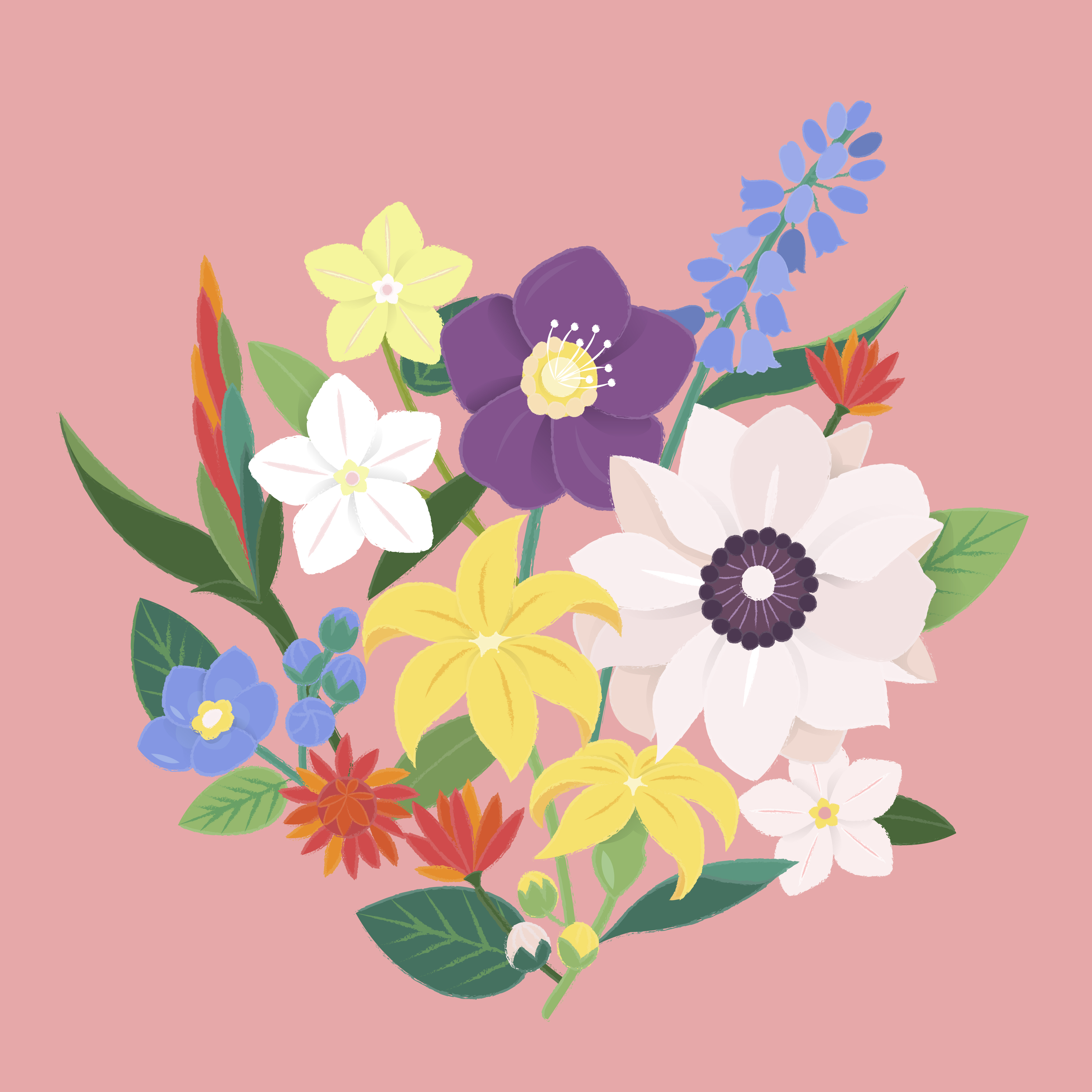 Цветов дом, про букет цветов загадки