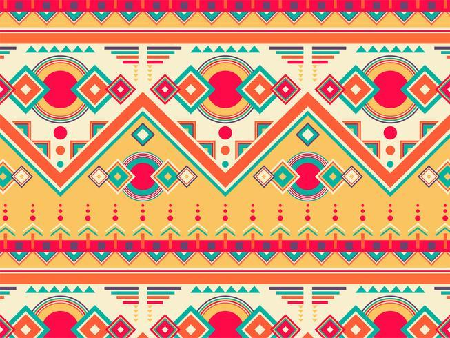 Illustration av etnisk mönster