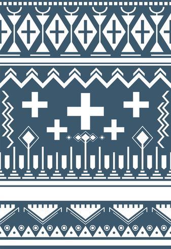 Ilustración de patrón étnico