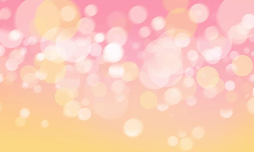 Fond d'écran abstrait bokeh lumières brouillées