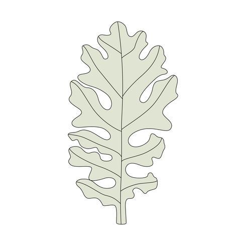 Illustration av ett dammigt kvarnblad