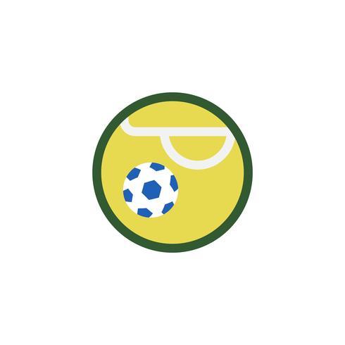 Illustration de l'icône du ballon de football