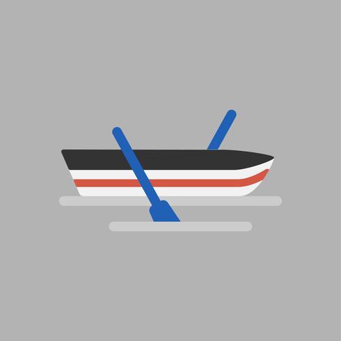 Illustration av båtikonen
