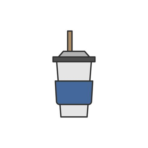 Ilustración del envase de bebida