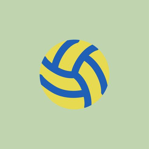Illustration of volleyball icon