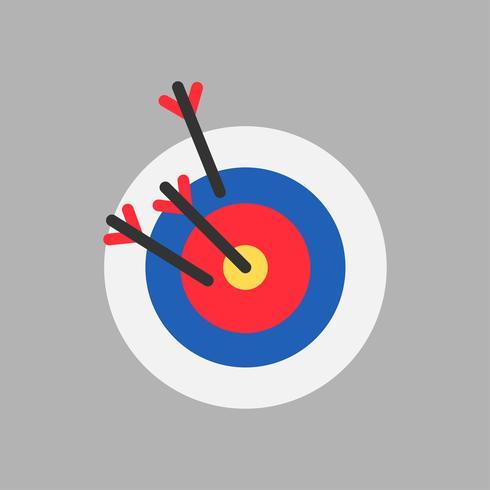 Illustration av målikon