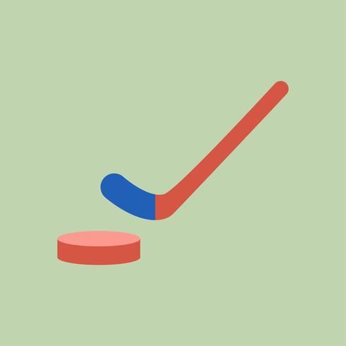 Illustration de l'icône du hockey sur glace