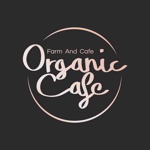 Logo voor organische cafés