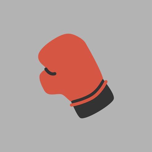 Illustration der Boxhandschuhikone