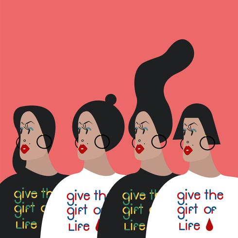 Donnez la typographie Don of Life
