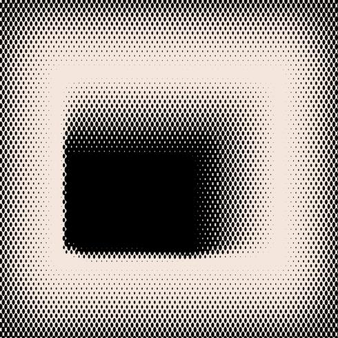 Black and beige halftone background vector