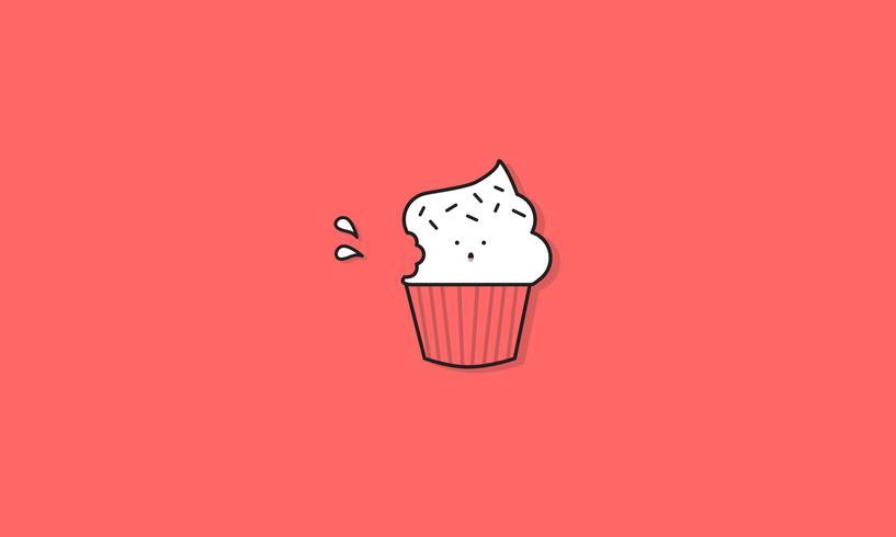 Illustration de petit gâteau