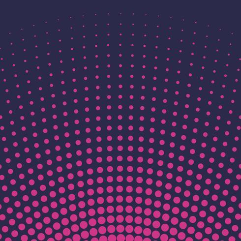 Vector de fondo de semitono gradiente rosa